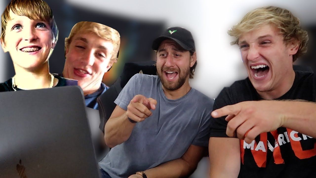 reacting-to-jake-and-i-s-old-youtube-videos-cringe