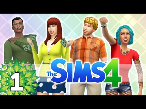 Let's Play The Sims 4 - Part 1 - Treasure!