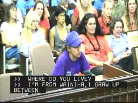 Hoku Cabebe Testimony Kauai County Council Sept  9, 2013