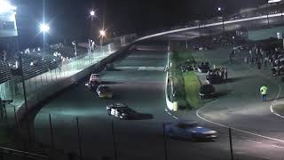 Mini Stock Race Caraway Speedway first race in #76 car part 4