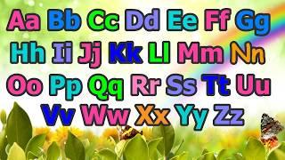Песенка для детей. Учим английский алфавит.