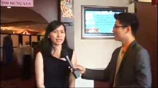 Dr. Thu Tran on TV