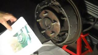 How to change brake shoes 1999 Chevy Suburban