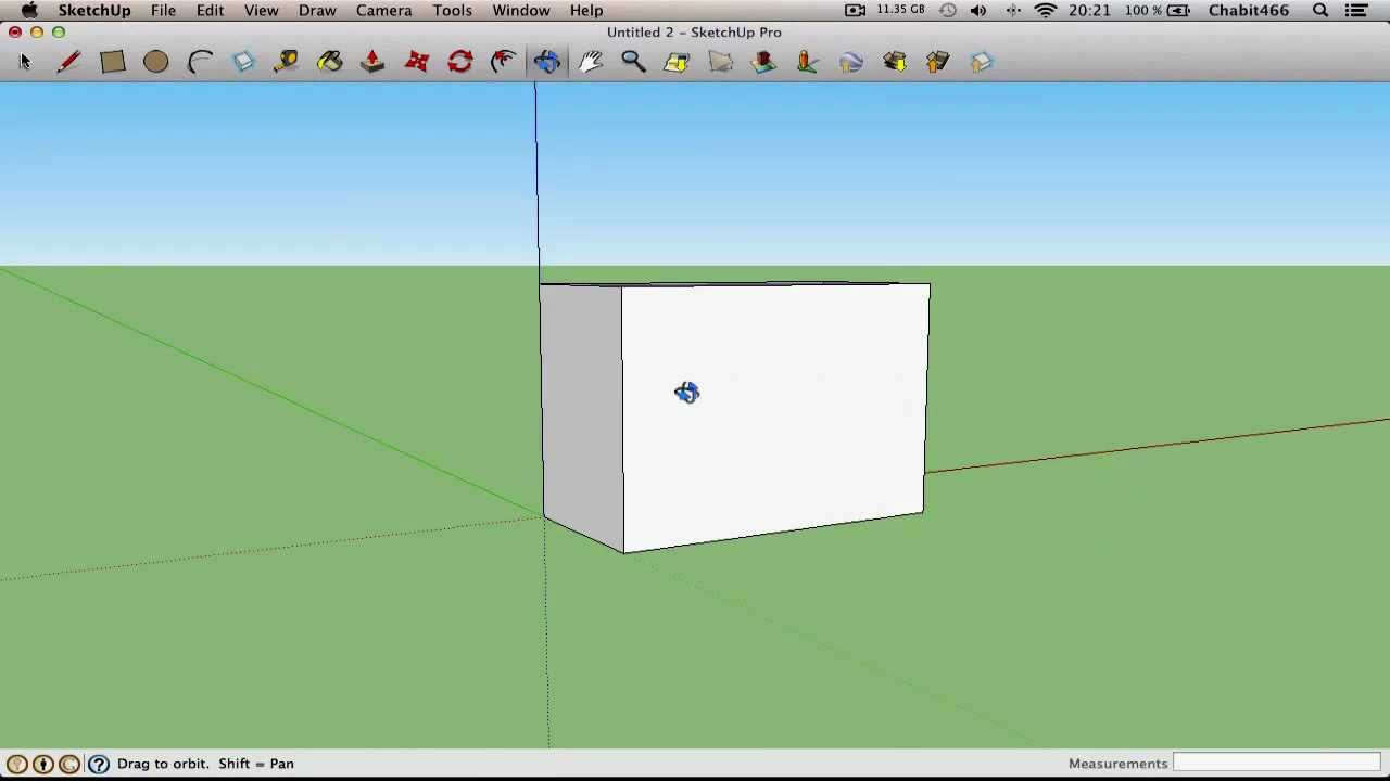 Sketchup pro 8 mac os x youtube for Outil miroir sketchup