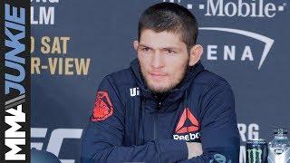 Video UFC 219: Khabib Nurmagomedov full post-fight interview download MP3, 3GP, MP4, WEBM, AVI, FLV Juli 2018