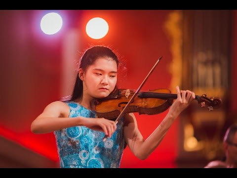 Mone Hattori (Japan) - Stage 1 - International H. Wieniawski Violin Competition STEREO
