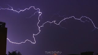 Thunderstorm in Puglia | Lightening slowmotion  Nature HD