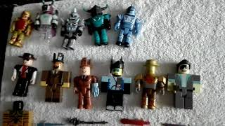 My collection of Roblox figurines