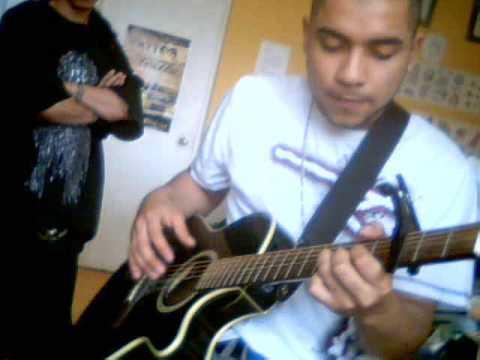 por un segundo  guitarra cover
