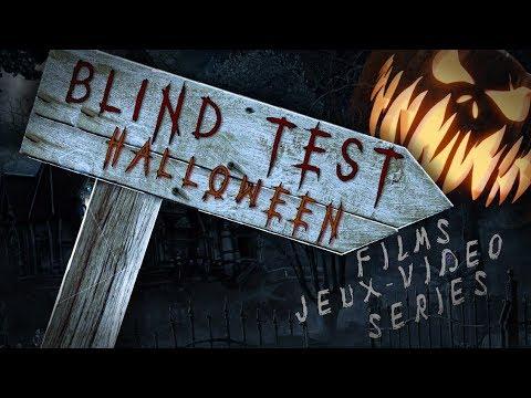 Blindtest | Spécial Halloween | Films/Séries/Jeux vidéos