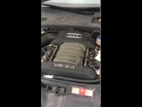 Audi a6 c6 2.4 bdw strange engine problem