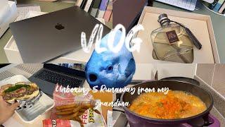 [VLOG] 언박싱 Party(MacBook Air, …