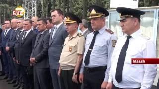 Masallı rayonunda yeni məhkəmə binasının təməli qoyuldu
