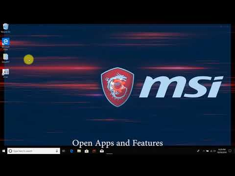 MSI® HOW-TO Update Intel RST Driver On Optane Memory Model