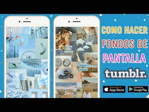 CREA TUS PROPIOS FONDOS DE PANTALLA TUMBLR CON PICSART
