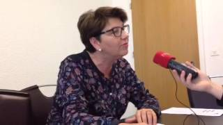 Viola Amherd - Glasfasernetz Situation Oberwallis
