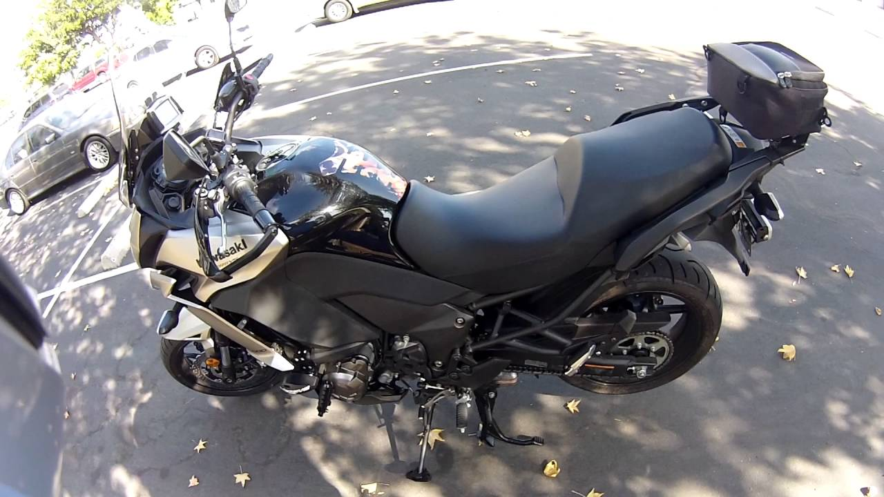 moto werk lowering kit for 2015 2016 kawasaki versys 1000 - youtube