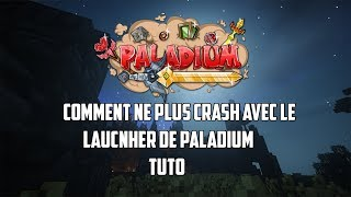 COMMENT NE PLUS CRASH AVEC PALADIUM ET JOUER SANS LE LAUNCHER ! | Tuto Minecraft Paladium