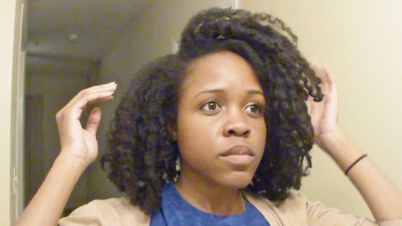 Maintaining Natural Hair At Night