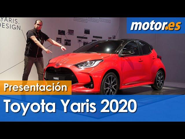 Toyota Yaris 2020 | Presentación estática