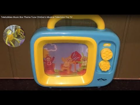 Teletubbies Music Box Theme Tune Children's Musical Television Toy TV