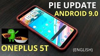 OnePlus 5T Stable Android Pie Update
