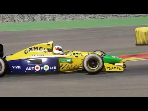 Assetto Corsa - Benetton B191 Hotlaps at Spa