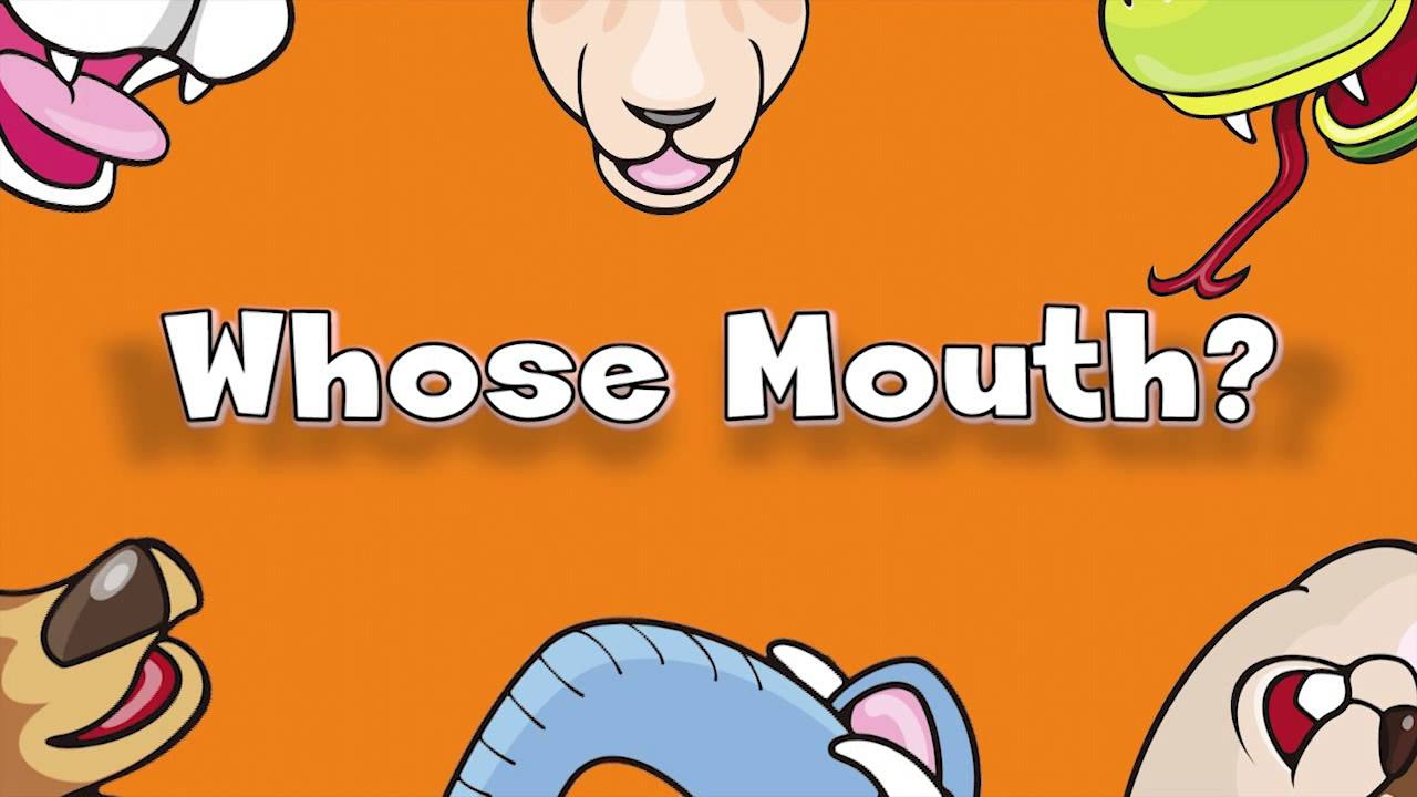 Whose Mouth? | Learn Animals Song for Kids - YouTube