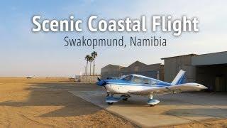 Scenic Coastal Flight - Swakopmund, Namibia