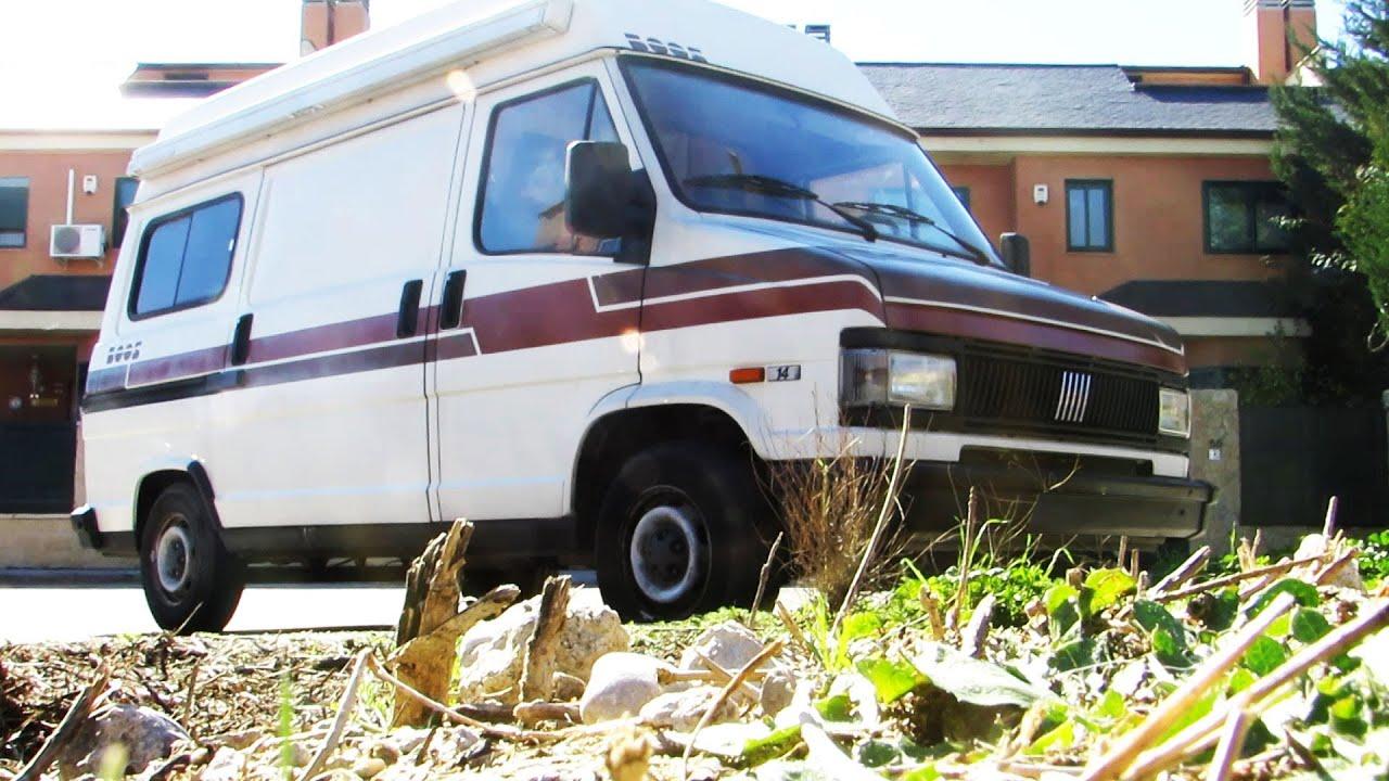 Fiat ducato camper furgoneta vivienda del 92 youtube for Fiat ducato camper ausbau