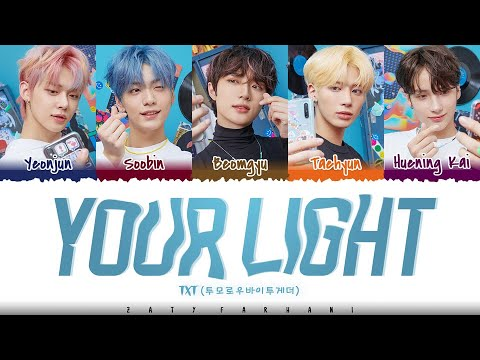TXT – 'YOUR LIGHT' [Live On OST] Lyrics [Color Coded_Han_Rom_Eng]