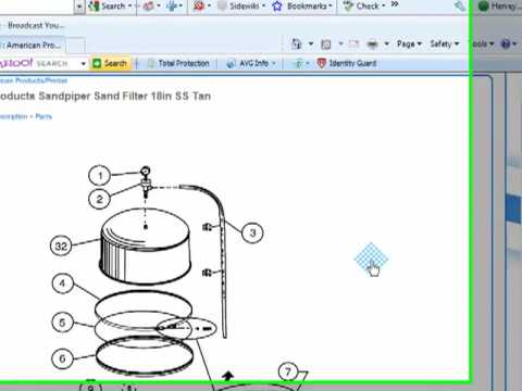 how to clean a pentair pool filter youtube