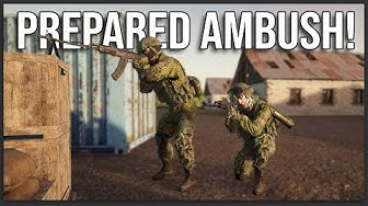 WE AMBUSHED A PLATOON ON PATROL! SQUAD 40 vs 40 1-LIFE EVENT!
