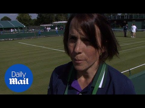 Wimbledon ballboy trainer on military style training process - Daily Mail
