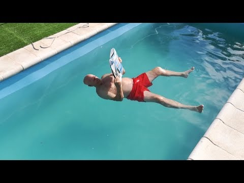 AS Floating water: an invention to combat swimming pool drownings