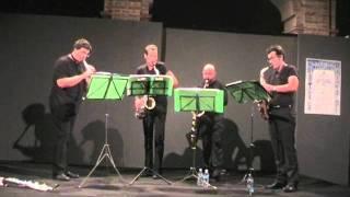Atem Sax Quartet - Uncle Meat Variations By Frank Zappa