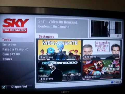Vídeo: conheça o decoder HD popular da Sky