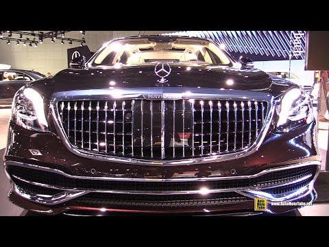 2019 Mercedes Maybach S650 - Exterior And Interior Walkaround - 2018 LA Auto Show