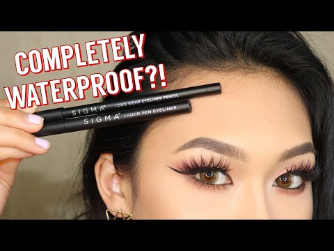 NEW Sigma Wicked Eyeliner Wear Test/Review