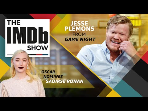 Download Youtube: The IMDb Show   Episode 114: 'Game Night' Star Jesse Plemons and 'Lady Bird' Star Saoirse Ronan