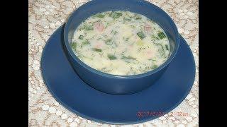 Окрошка на кефире (Кухня народов мира: простые кулинарные рецепты)