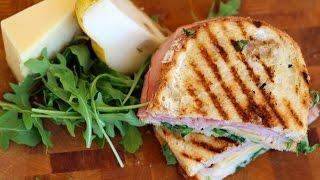 Ham, Gruyere & Pear Sandwich