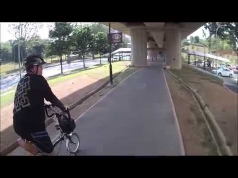 Cycling to Sembawang Hot Spring, Singapore