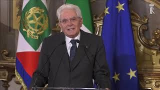 Intervento Del Presidente Mattarella alla cerimonia di consegna delle onorificenze OMRI