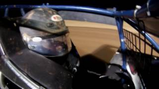 Derek Cottrell Sprint Car In-Car Camera at Lawton Speedway