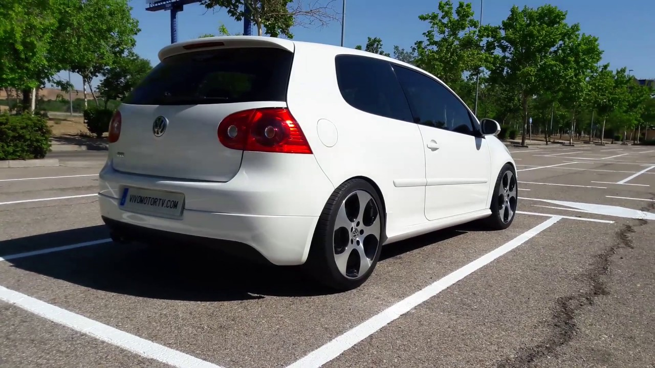 volkwagen golf v gti 2 0 tsi 200 cv youtube. Black Bedroom Furniture Sets. Home Design Ideas