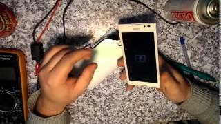 Sony С2305 самый простой в мире ремонт(Смартфон завис. Пролежал в сумке ночь и сам вылечился., 2015-01-04T12:30:39.000Z)
