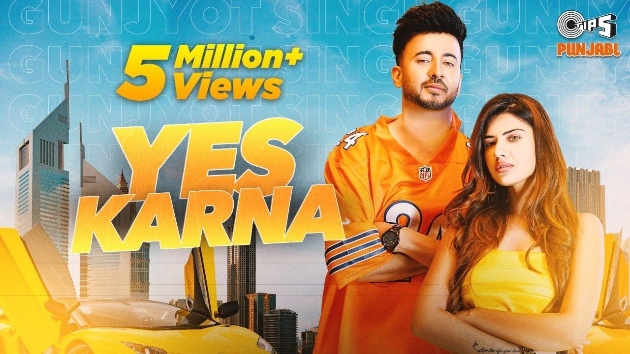 Gunjyot Singh: Yes Karna (Official Video) GAS_Patanga | SunnyVik | Dilwala | Yashika | Tips Punjabi