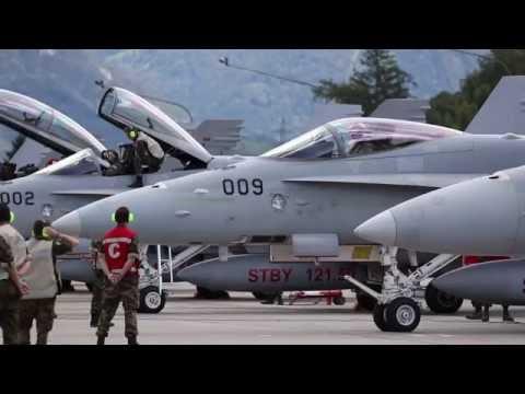 F/A-18 Squadron Start-Up | Meiringen HQ
