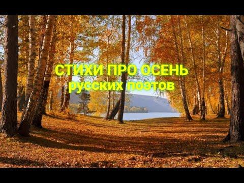 Осень. Сборник самых удивительно красивых стихов про осень русских поэтов классиков
